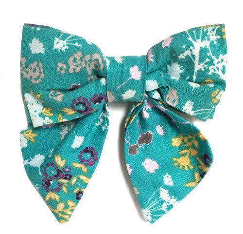 Collar Bow - Bright Buds