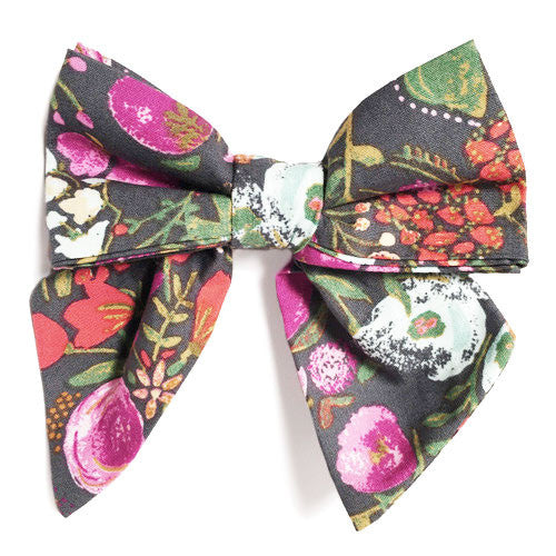 Collar Bow - Nightfall Bouquet