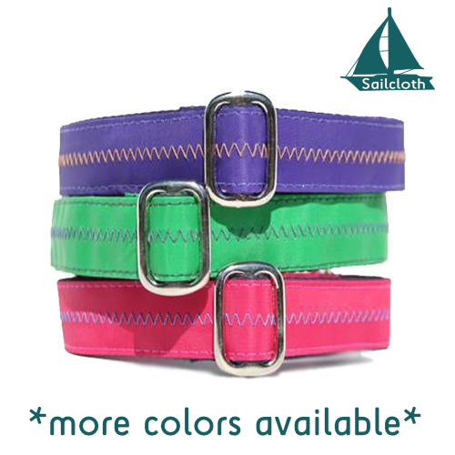 Unlined Sailcloth Buckle or Martingale