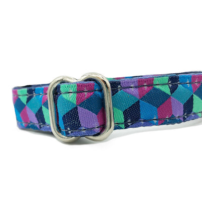"5/8"" Unlined Cubed Buckle or Martingale"