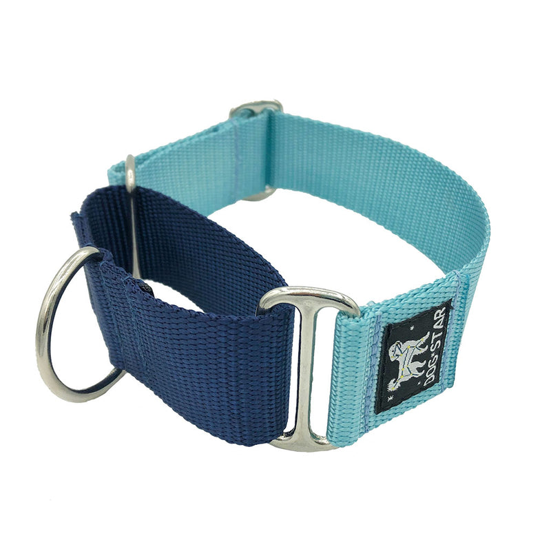 "1.5"" Naked Nylon True Blue Martingale"