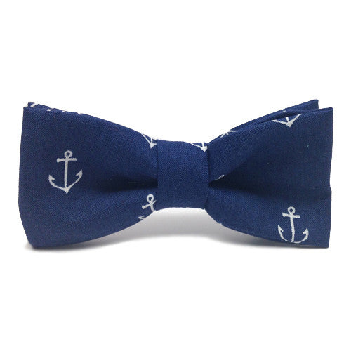 Dog Bow Tie Anchor's Away! | Classic Hound Collar Co.