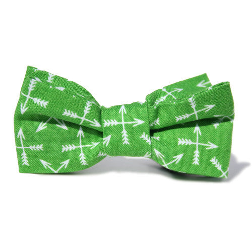Dog Bow Tie Archer Lime | Classic Hound Collar Co.