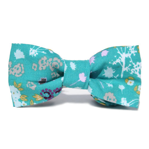 Dog Collar Bow Bright Buds | Classic Hound Collar Co.