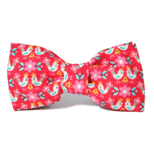 Dog Bow Tie Little Birdie Told Me | Classic Hound Collar Co.