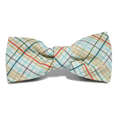 Dog Bow Tie Plaid Autumn | Classic Hound Collar Co.