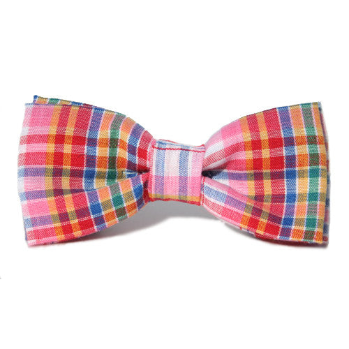 Dog Bow Tie Plaid Preppy | Classic Hound Collar Co.
