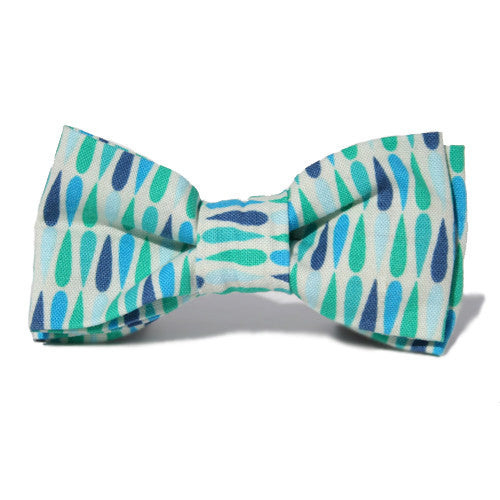 Dog Bow Tie Rainy Day | Classic Hound Collar Co.
