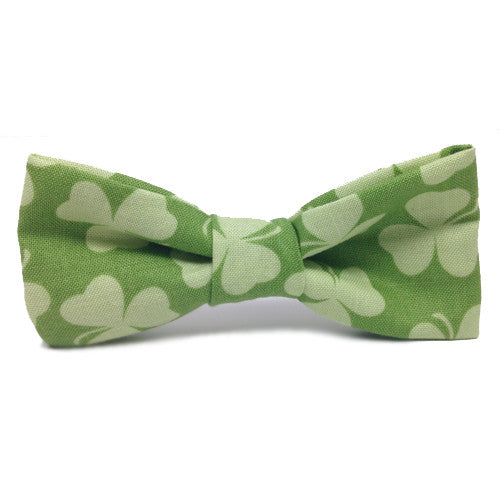 Dog Bow Tie Shamrocks | Classic Hound Collar Co.