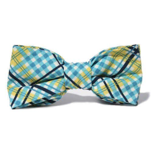 Dog Bow Tie Tartan Fresh | Classic Hound Collar Co.