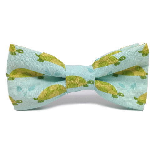Dog Collar Bow Turtles | Classic Hound Collar Co.