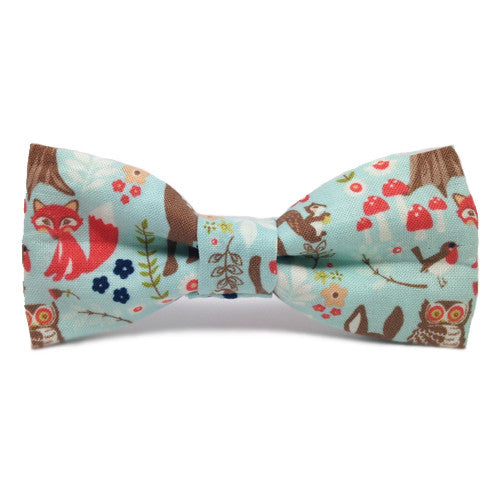 Dog Bow Tie Woodland | Classic Hound Collar Co.