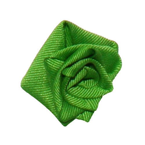 Apple Green Dog Collar Rose Accessory by Classic Hound Collar Co.