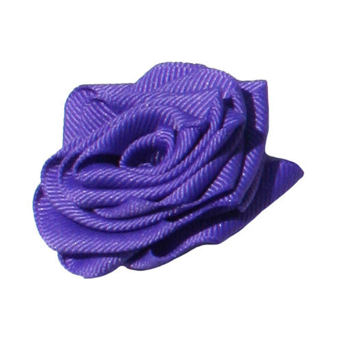 Delphinium Purple Dog Collar Rose Accessory by Classic Hound Collar Co.