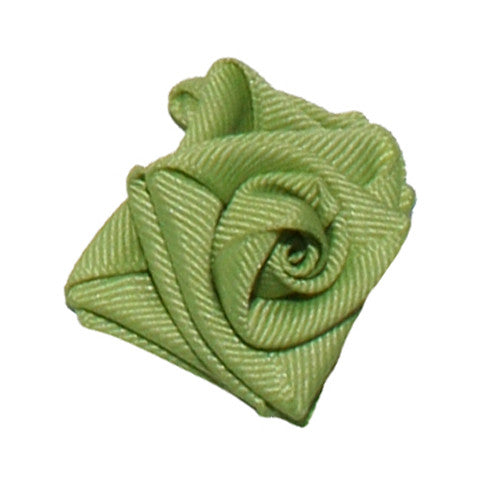 Collar Rose Lime Green