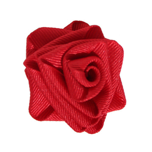 Collar Rose Hot Red