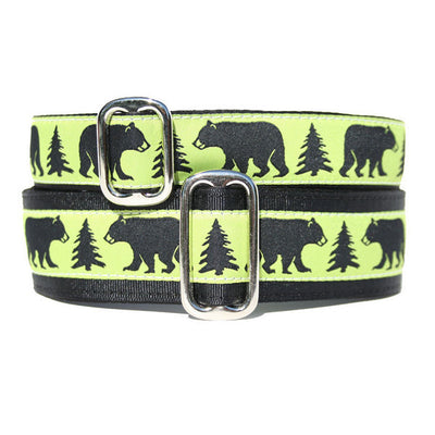 Unlined Black Bear Buckle or Martingale
