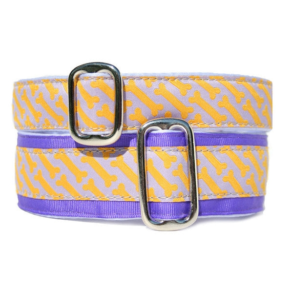 Satin-Lined Throw Me A Bone Martingale