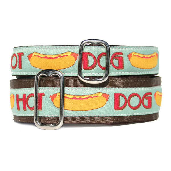 Hot Dog Buckle Collar