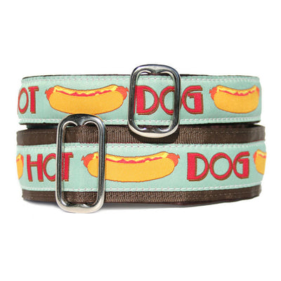Unlined Hot Dog Buckle or Martingale
