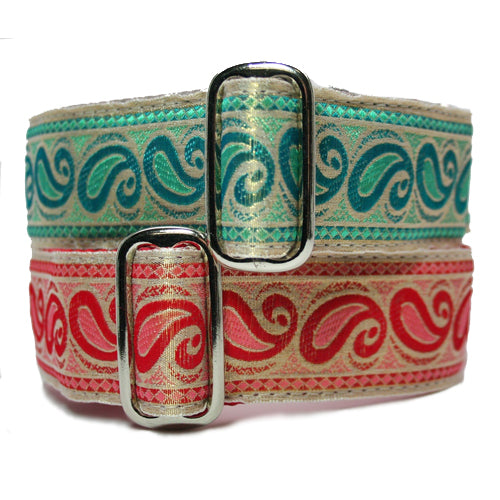"1.5"" Satin-Lined Paisley Martingale"