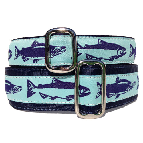 Satin-Lined Salmon Martingale