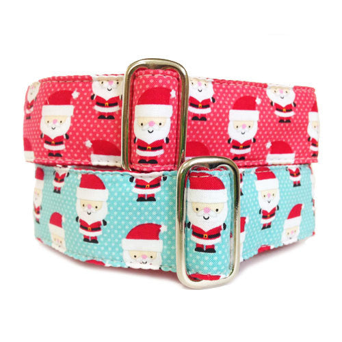 Dog Collar Santa Baby Set | Classic Hound Collar Co.