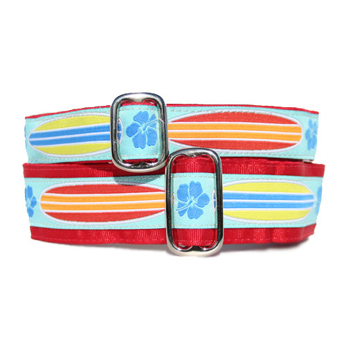 "1"" Surf's Up! Buckle Collar"