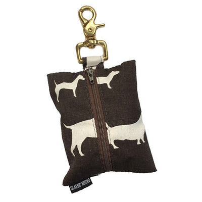 BowWow Chocolate Leash Bag