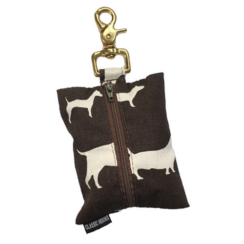 Leash Bag - BowWow Chocolate