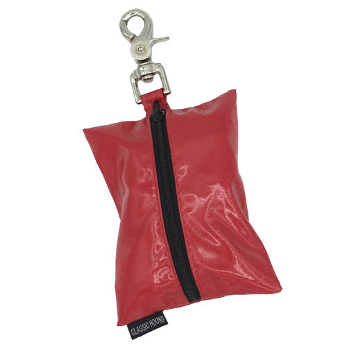 Mudproof Cherry Red Leash Bag