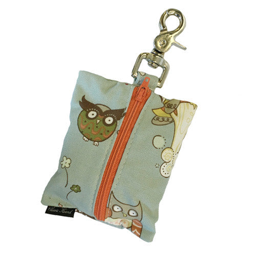 Leash Bag - Owls Ice