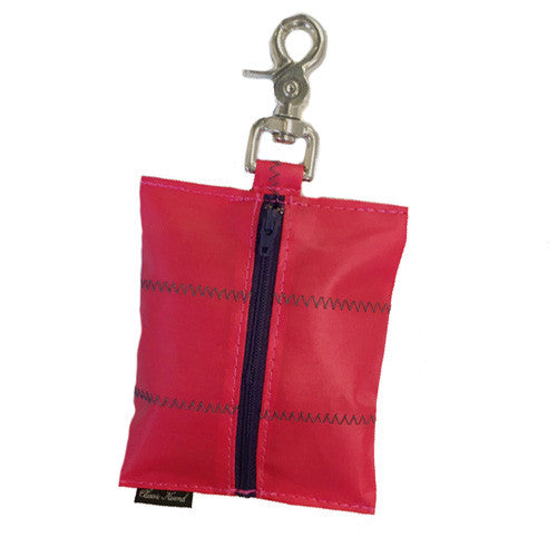 Sailcloth Red Leash Bag