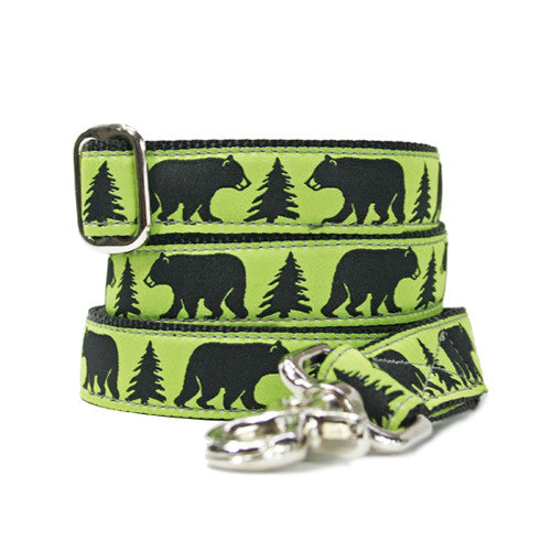 Dog Leash - Black Bear