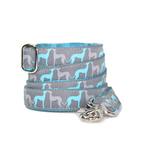 "1"" Hound Amore Aqua Leash"