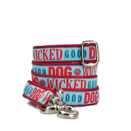 "1"" Wicked Good Dog Leash"