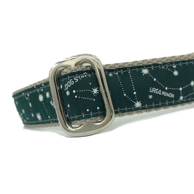 Unlined Constellations ID Tag Collar