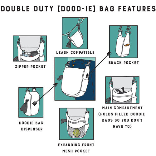 Double Duty Bag - Solid Silhouette