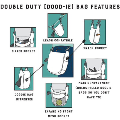 Double Duty Bag - Woof Woof