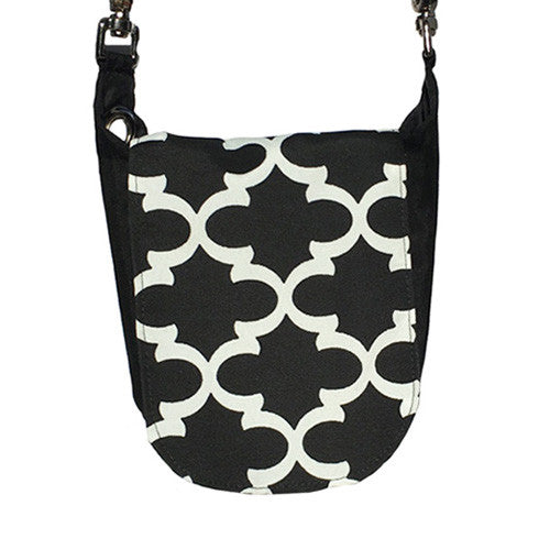 Double Duty Bag - Black Lattice