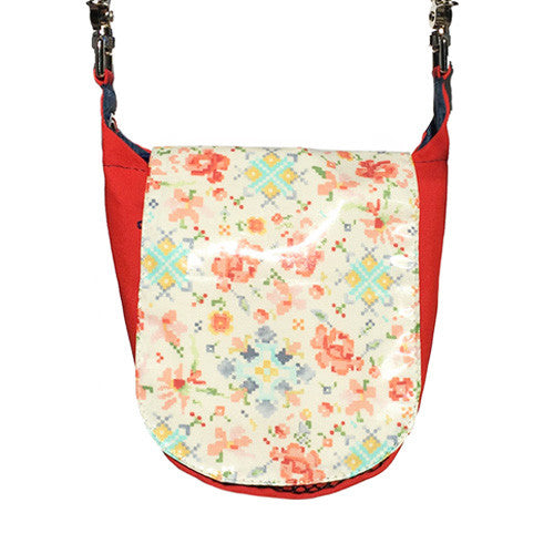 Double Duty Bag - Pixel Flowers