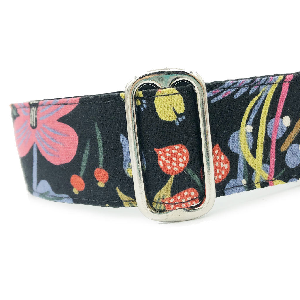 Satin-Lined Folk Birds Martingale