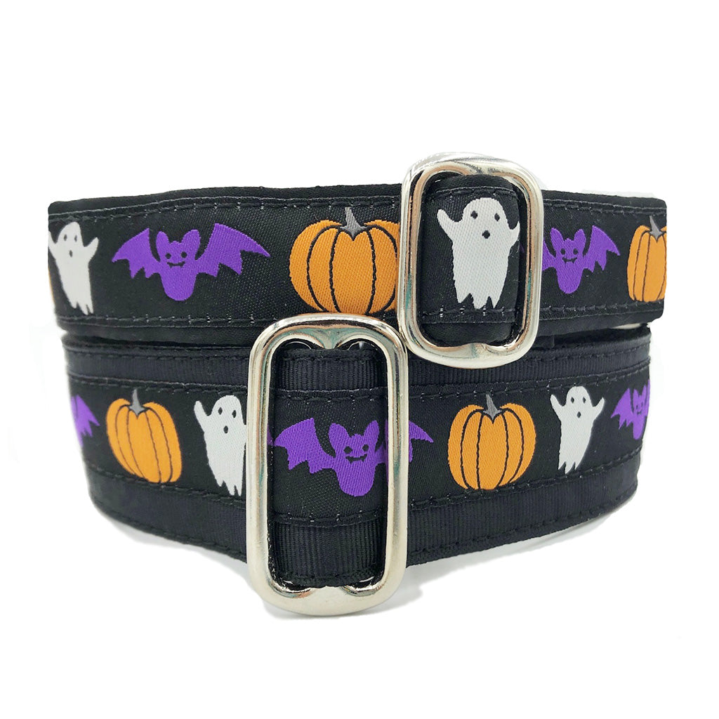 Unlined Halloween Spirit Buckle or Martingale