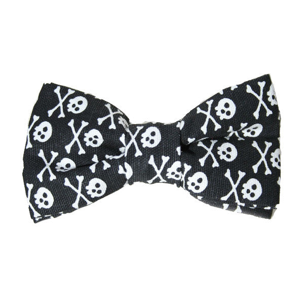 Dog Bow Tie Jolly Roger | Classic Hound Collar Co.