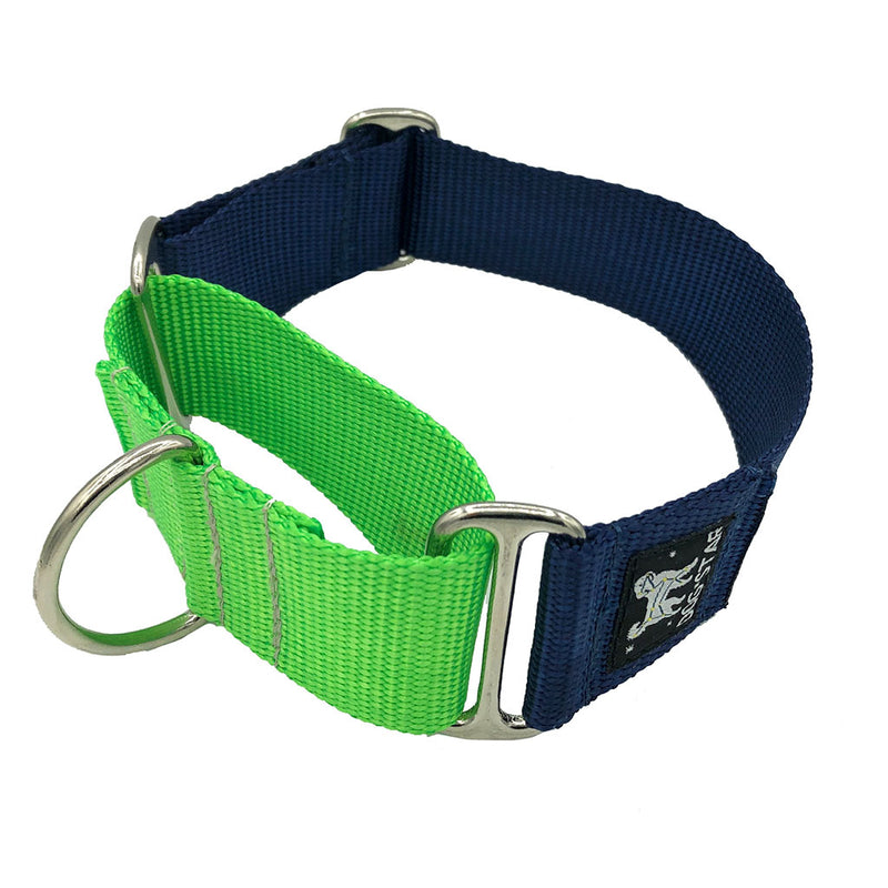 "1.5"" Naked Nylon ""Top Dog"" Martingale"