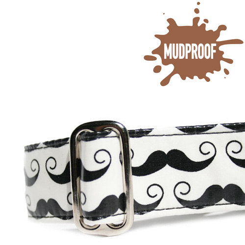 Mudproof Mustache ID Tag
