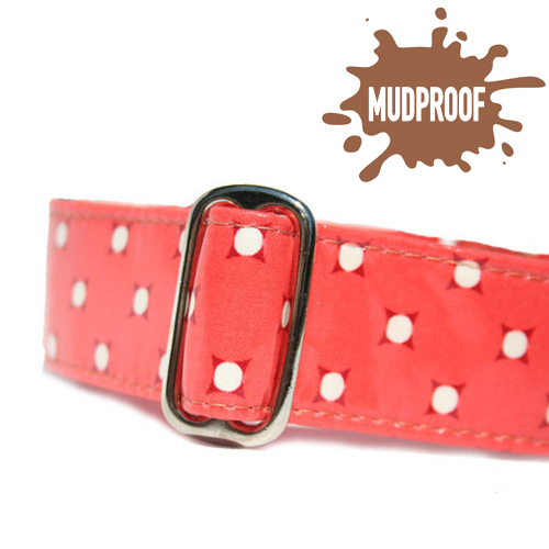 Mudproof Vintage Dots Martingale