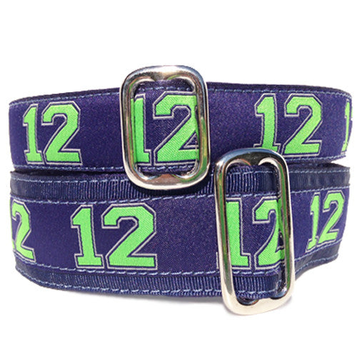 "1"" Unlined 12th Man's Best Friend Tag Collar"