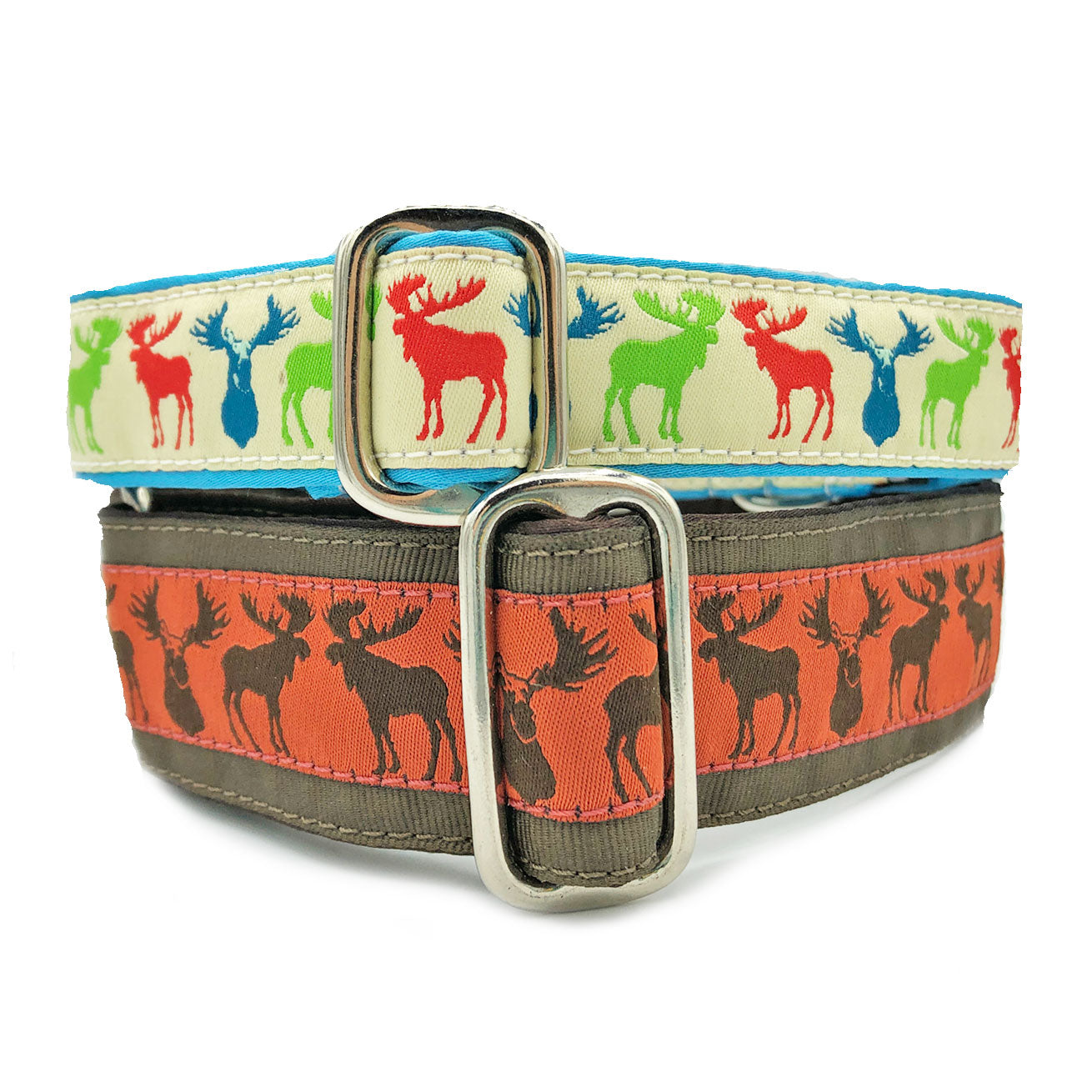 Satin-Lined Moose Martingale