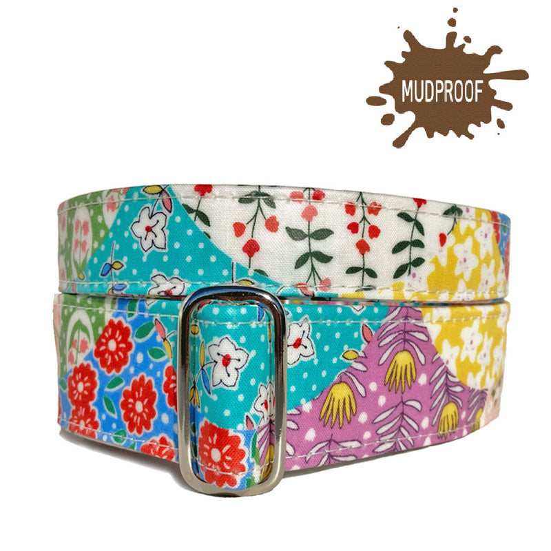 Mudproof Blossom Patchwork Martingale